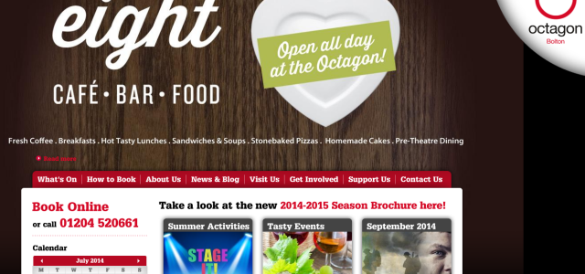 Octagon Theatre Website